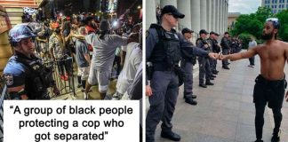 The Side Of George Floyd Protests Media Never Shows (20 Pics)