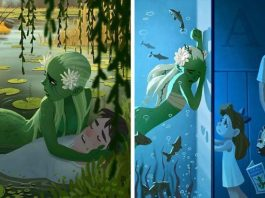 May - The Green Mermaid Who Lives In A Lily Lake
