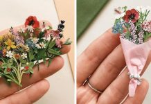 Micro-Sized, Beautiful Plant Paper By Tania Lissova