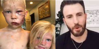 Boy Saves Sister From Dog Attack, Receives Real Captain America Shield From Chris Evans