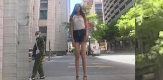 This 6-Foot-9-Inch Russian Woman Claims She Has The Longest Legs In The World