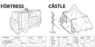 Simple And Easy DIY Lockdown Furniture Fort Ideas By IKEA