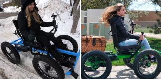 """Off-Road """"Wheelchair"""" Designed By A Man For His Wife Is Up For Mass Production"""