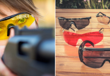 Shooting Glasses Lens Color