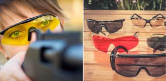 Shooting Glasses Lens Color